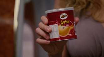 Just for anyone else who may be surpised to hear of Arabic Pringles, I thought I would post a photo for you. I mean, WOW! (Sex and the City 2, screenshot).